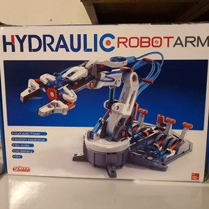 New open box hydraulic robot arm